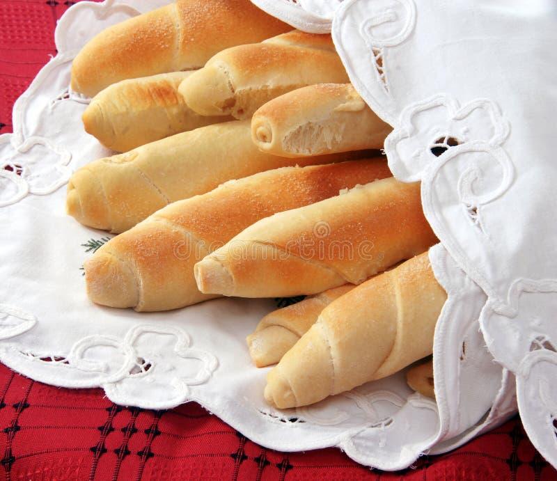 Smakelijk eigengemaakt brood stock foto