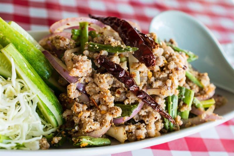 Smakelijk Thais voedsel stock afbeeldingen