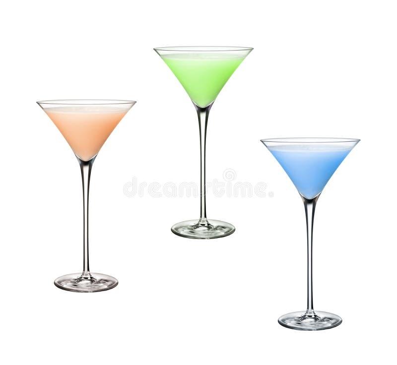 Smakelijke cocktails royalty-vrije stock afbeelding