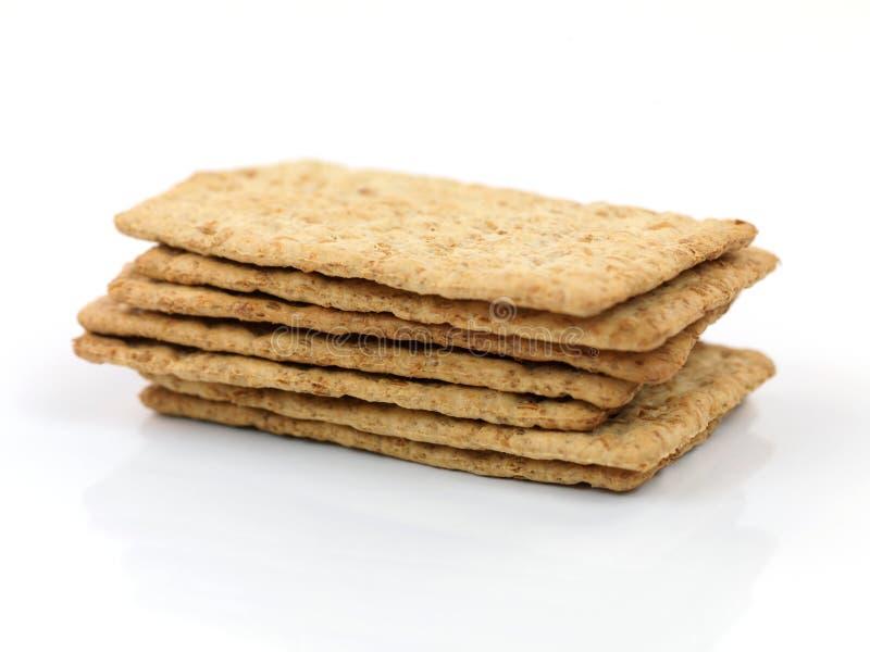 Smakelijke Crackers royalty-vrije stock afbeeldingen