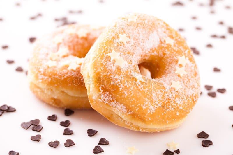 Smakelijke Doughnut royalty-vrije stock afbeelding