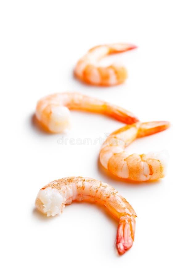 Smakelijke garnalen stock afbeelding