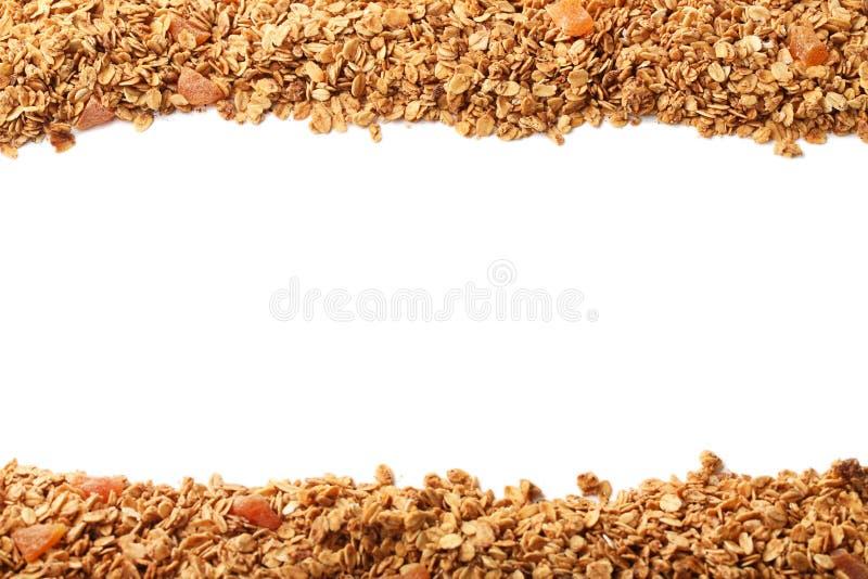 Smakelijke granola stock foto's