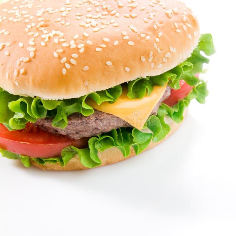 Smakelijke hamburger stock fotografie