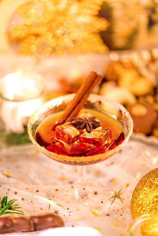 Smakelijke Kerstmislikeur royalty-vrije stock foto's