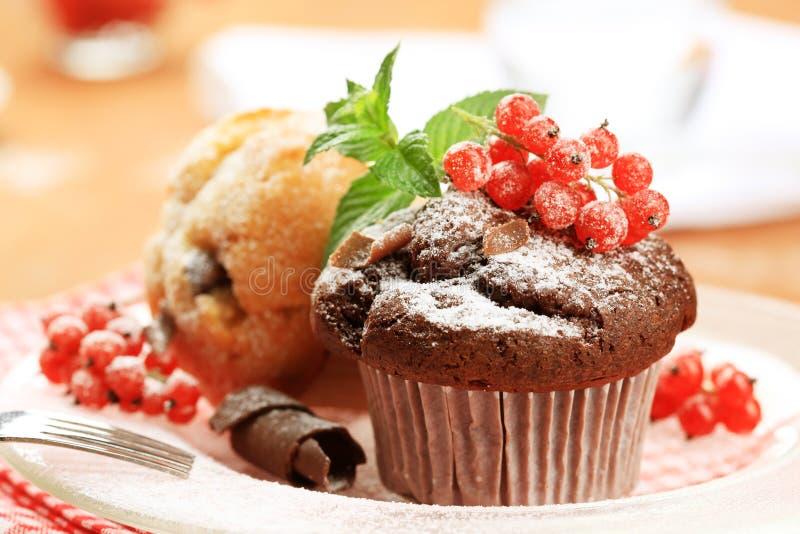 Download Smakelijke muffins stock afbeelding. Afbeelding bestaande uit gebakken - 10778929