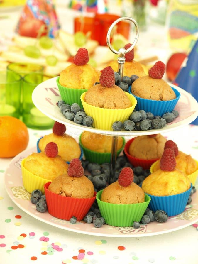 Smakelijke muffins stock fotografie