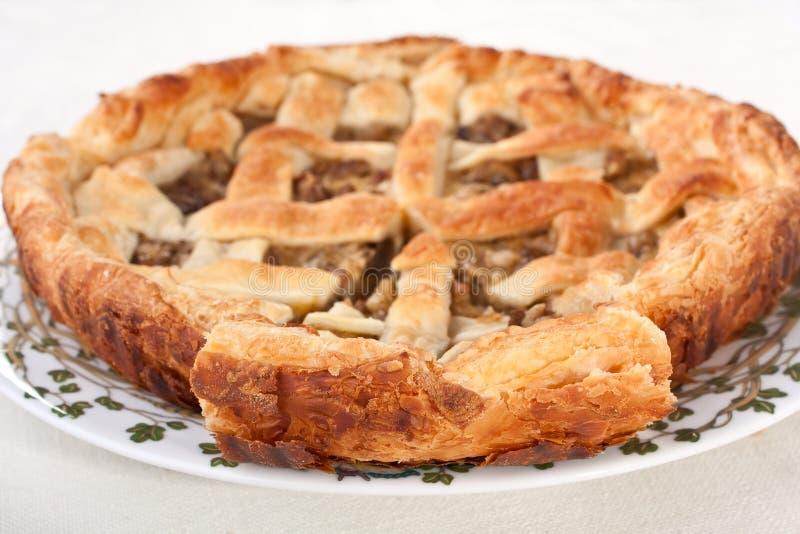 Download Smakelijke Paddestoelpastei Stock Foto - Afbeelding bestaande uit gebakken, diner: 10776608