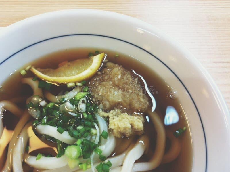 Smakelijke udon royalty-vrije stock afbeelding