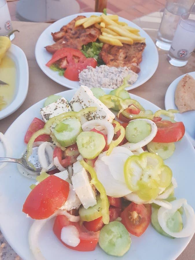 Smaken van Griekenland royalty-vrije stock foto