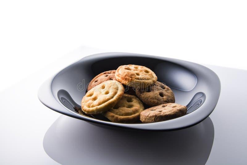 Smaklig frukost för mördegskaka royaltyfri fotografi