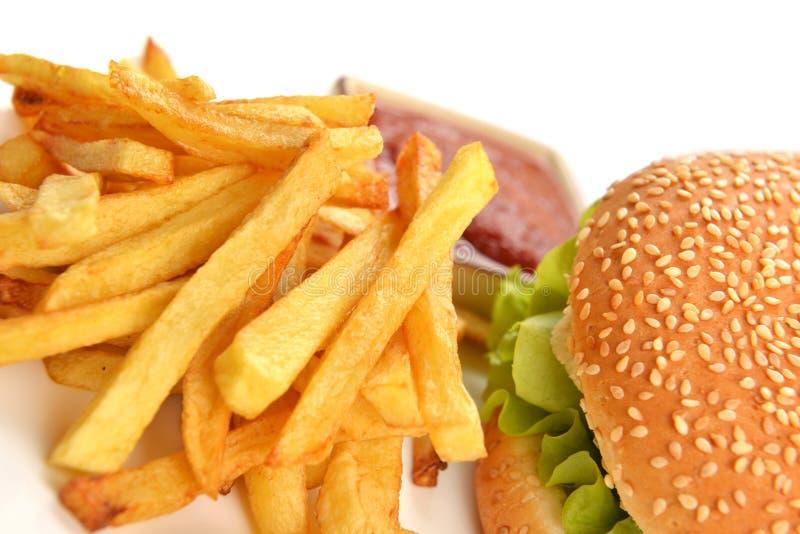 Download Smaklig hamburgare arkivfoto. Bild av cheeseburger, smörgås - 27285250