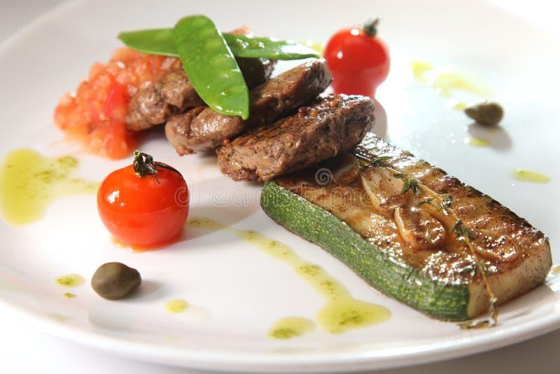 smaklig matplatta fotografering för bildbyråer