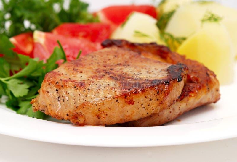 smaklig meat arkivfoton