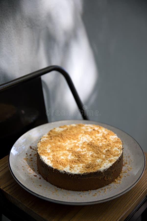 Smaklig och sund mat En härlig portion av mat Mat från restaurangen arkivfoton