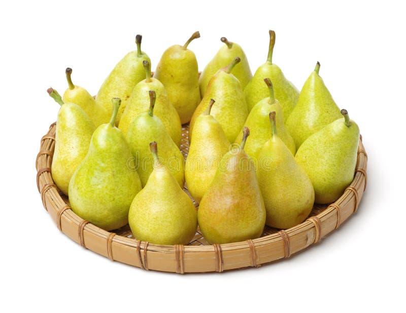 smaklig pear arkivbilder