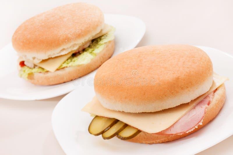 Smaklig smörgås royaltyfri foto