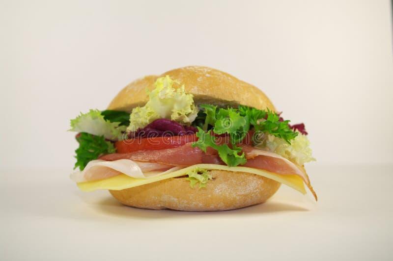 smaklig smörgås arkivfoto