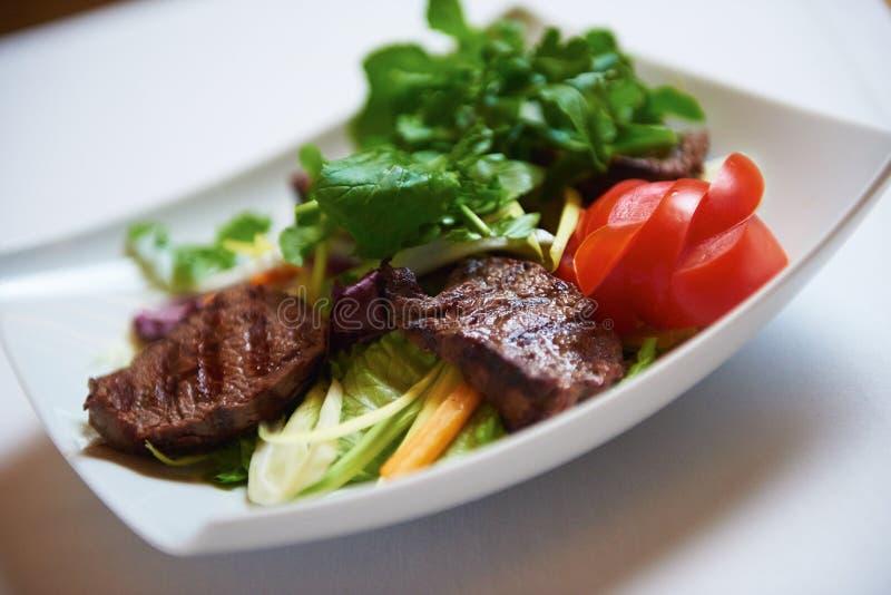 smaklig steak fotografering för bildbyråer