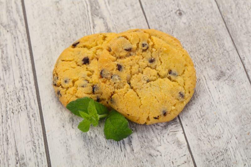 Smakliga amerikanska kakor arkivbild