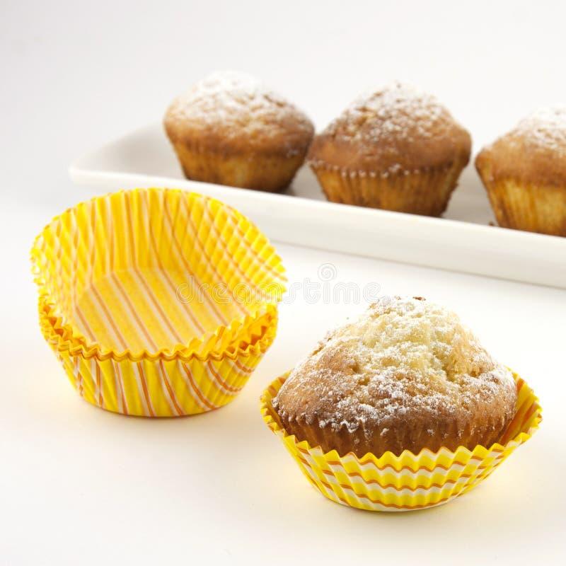Smakliga muffiner arkivfoton