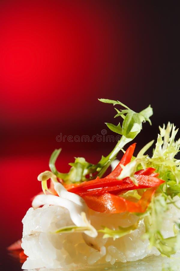 Smakliga sushi arkivbild