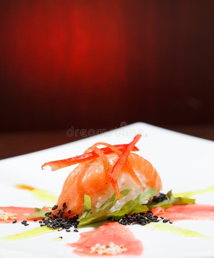 Smakliga sushi royaltyfri foto