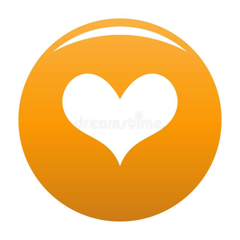 Smakowa kierowa ikony pomarańcze ilustracji