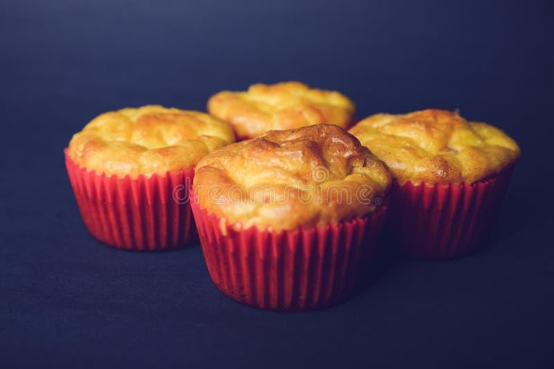 Smakowici słoni muffins fotografia stock