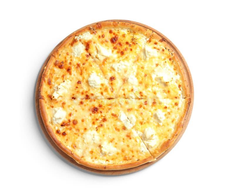 Smakowita gorąca serowa pizza obrazy stock