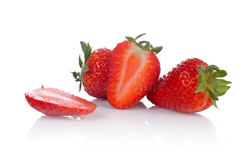 smakowite świeże truskawki zdjęcie stock