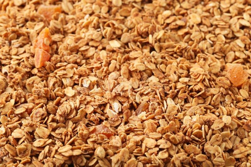 Smakowity granola obrazy royalty free