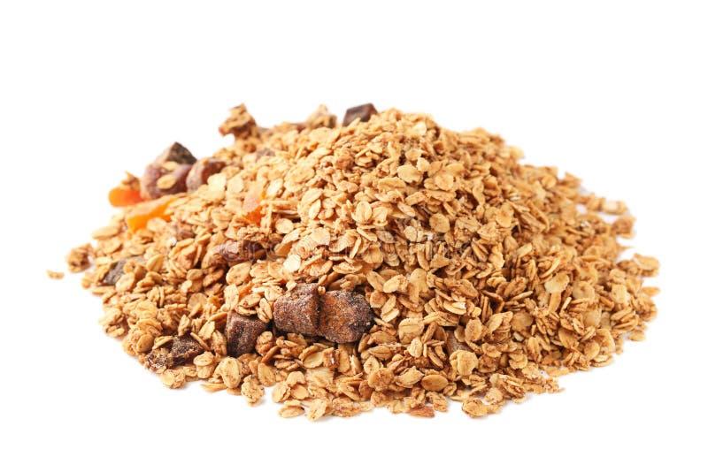 Smakowity granola zdjęcia royalty free