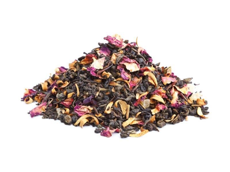 Smaksatt grön Tea royaltyfria foton