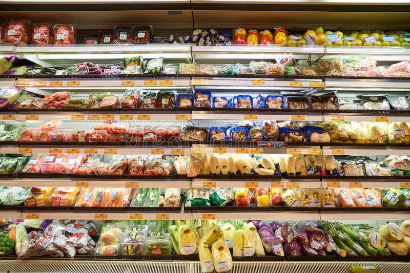Smaku supermarket fotografia stock