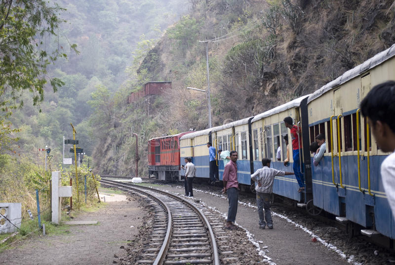 smal järnväg för gauge arkivfoton