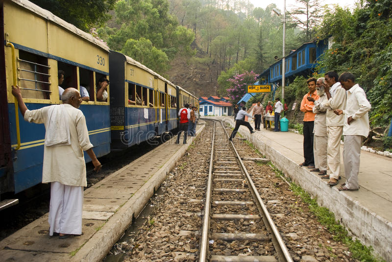 smal järnväg för gauge royaltyfri fotografi