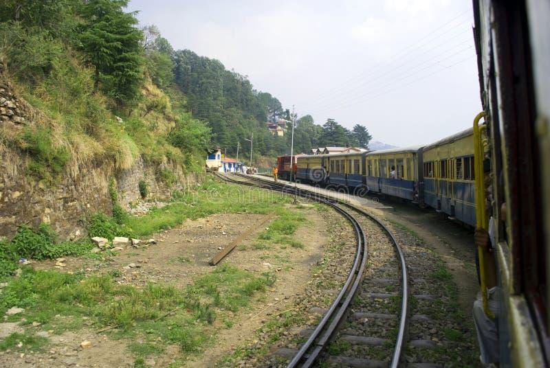 smal järnväg för gauge arkivbild