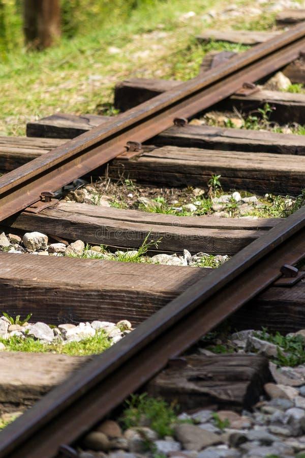 smal järnväg för gauge arkivbilder