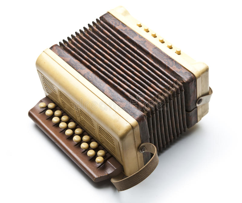 Small accordion stock photography