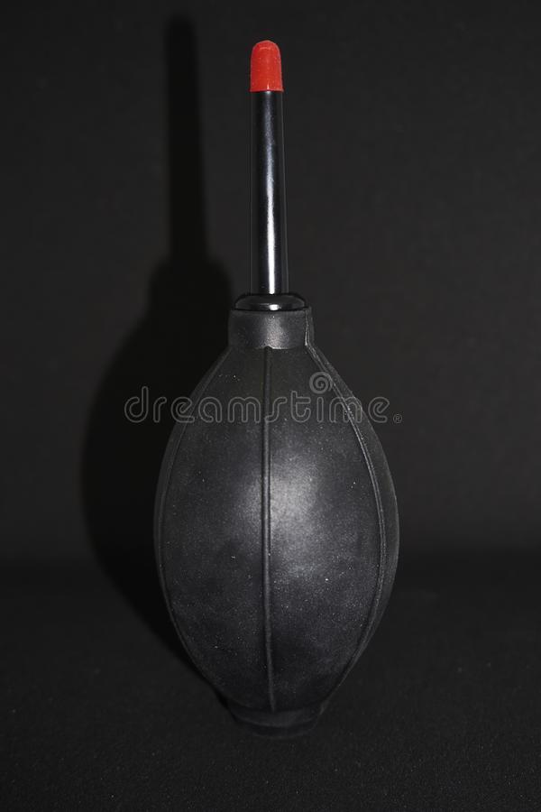 Small Airblower in black stock images
