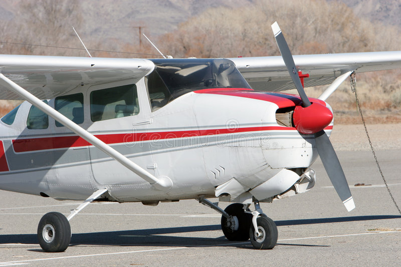 Small airplane royalty free stock image
