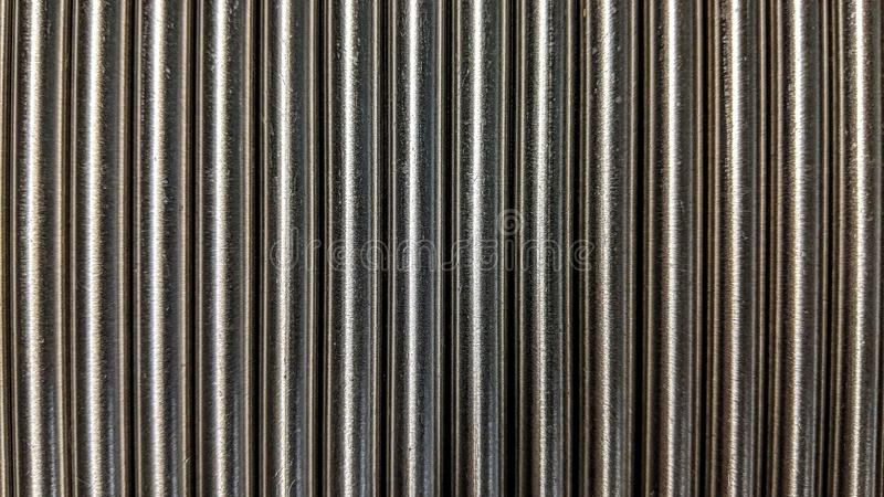 Small aligned metal bars. Can be used as background or wallpaper and for other possibility or to modify to your taste vector illustration