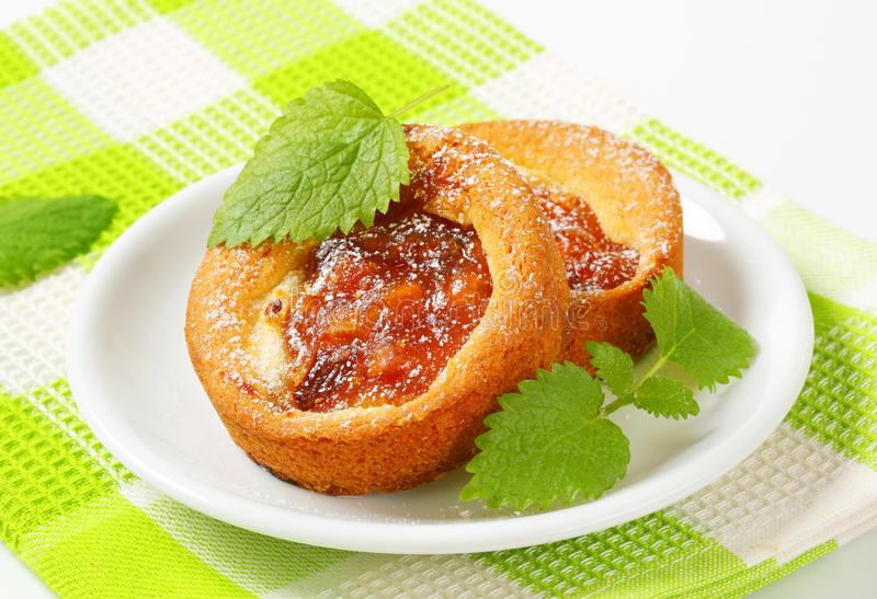 Download Small Apple Filled Cakes Stock Photo - Image: 39505884