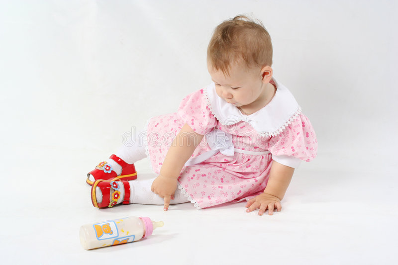 Small baby stock image
