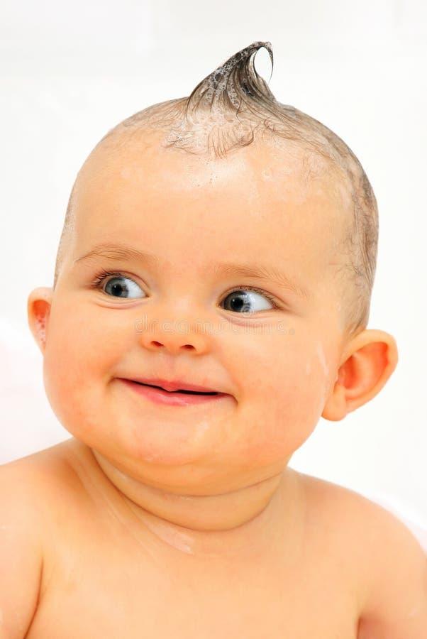 Small baby bath stock image. Image of bathroom, bathtub - 4967883