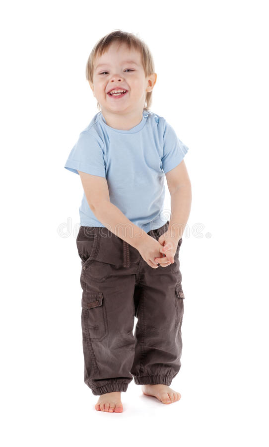 Small Baby Smiling Stock Images