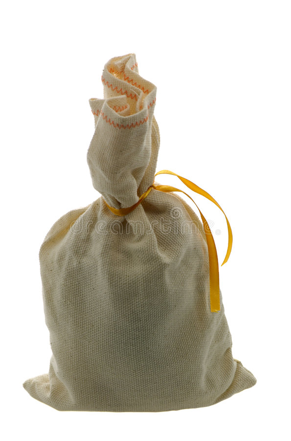 Download Small Bag With A Surprise Royalty Free Stock Photography - Image: 7363547