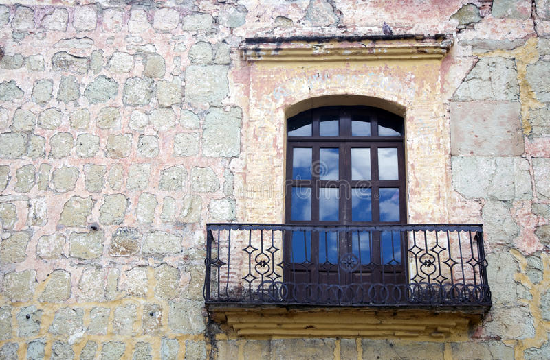 Download Small balcony, Mexico stock image. Image of building - 13235727