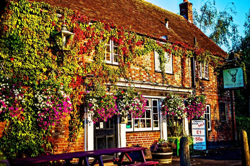 Download Small Bar In The Town Of Poole, Wales, UK Editorial Stock Image - Image of local, wales: 105328774